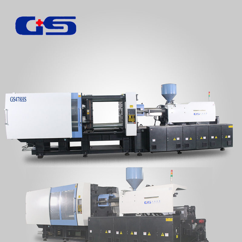 Plastic Horizontal Rubber Servo Motor Injection Molding Machine 4780KN Clamping Force