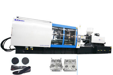 Rubber Sole Servo Energy Saving Injection Molding Machine 8000 Ton 613kw